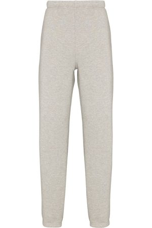 Les Tien Tapered-fit cotton track-pants - Grey