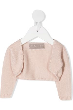 LA STUPENDERIA Cardigans - Cropped wool cardigan
