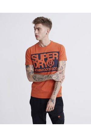 Superdry Denim Goods Co Print T-Shirt