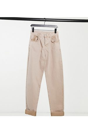 Reclaimed Vintage Inspired the '83 unisex relaxed fit jeans in tan