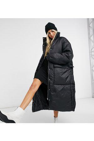 COLLUSION Longline puffer jacket in