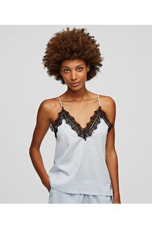 Karl Lagerfeld Women Pajamas - LACE PAJAMA CAMISOLE