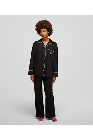 Karl Lagerfeld PIPED PAJAMA SET