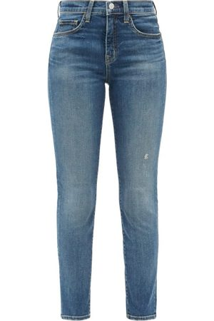 NILI LOTAN Mid-rise Slim-leg Jeans - Womens - Denim