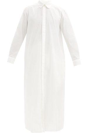 P. Le Moult Striped Cotton Nightshirt - Mens