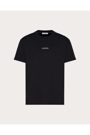 VALENTINO T-shirt With Valentino Print Man / Cotton 100% 3XL