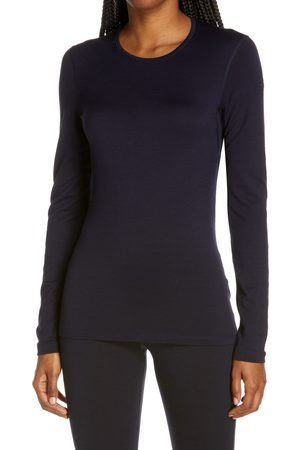Icebreaker Women's Women's Oasis Long Sleeve Merino Wool Base Layer T-Shirt