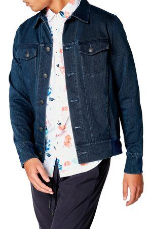 Good Man Brand Men's Slim Fit Twill Denim Jacket