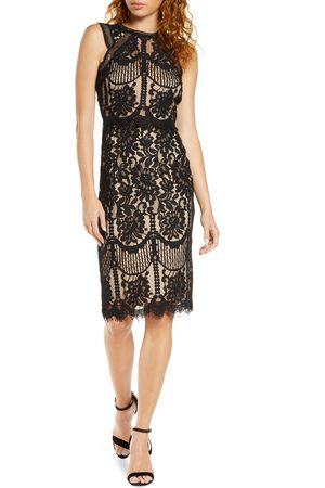 Lulus Women's Sweetness Lace Cocktail Sheath Dress