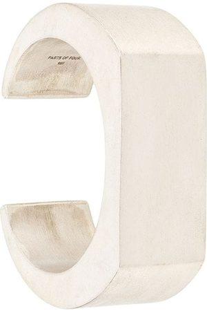 Parts of Four Bracelets - Crescent Plane cuff