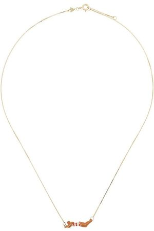 Aliita 9kt yellow Nadadora necklace