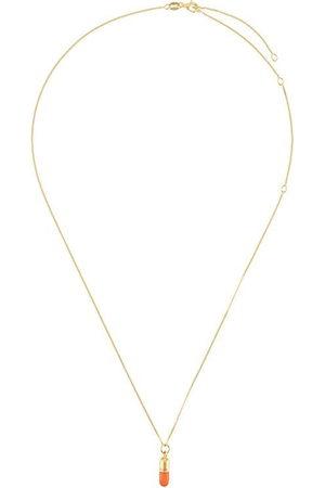 TRUE ROCKS Men Necklaces - Mini pill pendant necklace