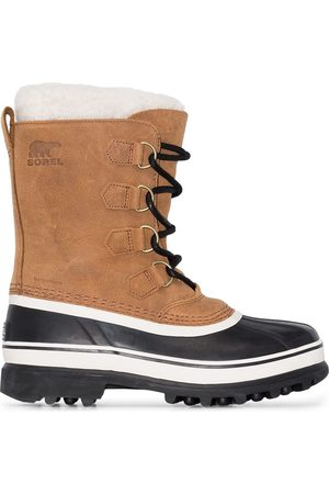 sorel Caribou leather boots