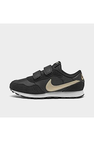 Nike Boys' Little Kids' MD Valiant Hook-and-Loop Casual Shoes Size 1.0 Suede