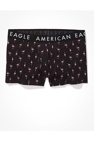 "American Eagle Outfitters O Flamingos 3"" Classic Trunk Underwear Men's XS"