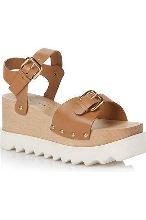 Stella McCartney Women's Elyse Wedge Sandals