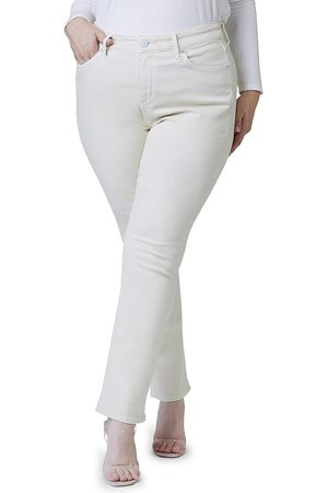 Slink Jeans Plus Women's High-Rise Straight-Leg Silhouette - - Size 24W
