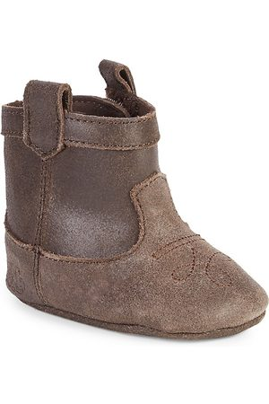 Ralph Lauren Baby Girl's Marlilee Leather Booties - - Size 3 (Baby)