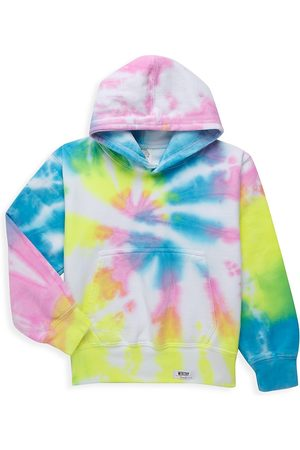 Worthy Threads Little Girl's & Girl's Tie-Dye Hoodie - - Size 4-6
