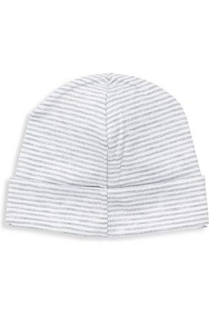 Kissy Kissy Essentials Cotton Stripe Hat - - Size Small (3-6 Months)