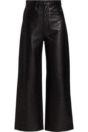 PROENZA SCHOULER WHITE LABEL Women's Leather Culottes - - Size 0