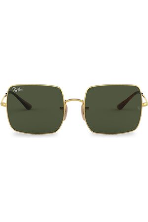 Ray-Ban Women's RB1971 54MM Square Aviator Sunglasses