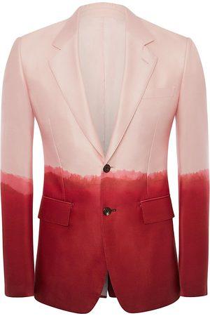Alexander McQueen Men's Dip Dye Wool & Silk Sportcoat - Pale - Size 42