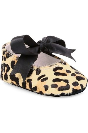 Ralph Lauren Baby Girl's Briley Calf Hair Mary Jane Flats - - Size 4 (Baby)