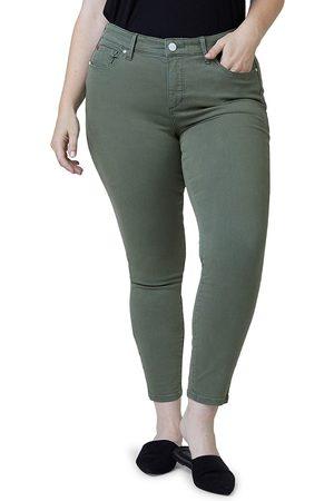 Slink Jeans Plus Women's Mid-Rise Jeggings - - Size 14W