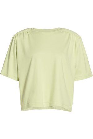 REMAIN Birger Christensen Women T-shirts - Women's Verona Padded Shoulder T-Shirt - - Size 40 (8)