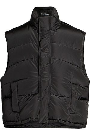 Balenciaga Men's Sleeveless Puffer Vest - - Size 50 (40)