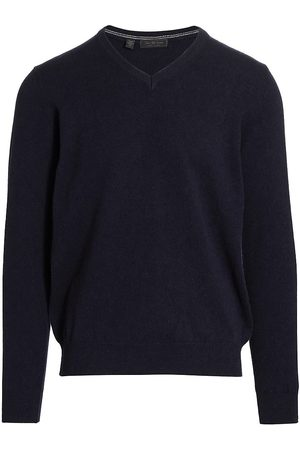 Saks Fifth Avenue Men's COLLECTION Cashmere V-Neck Sweater - - Size Small