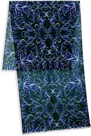 Kiton Men's Multi Print Silk Scarf