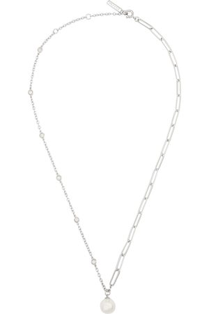 Olivia Burton Faux pearl-embellished -tone necklace