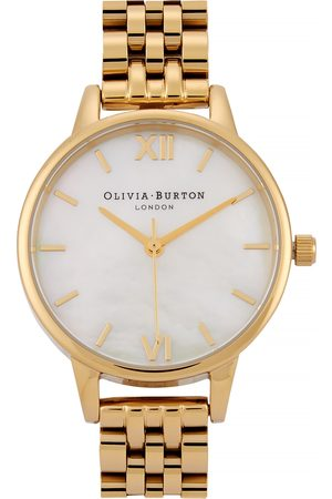 Olivia Burton Mother Of Pearl Dial -tone watch
