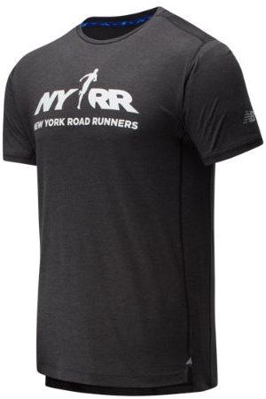 New Balance Men's RFL Printed Impact Run Short Sleeve - (MT01235BBKH)