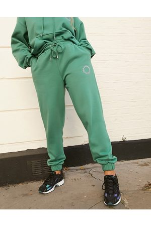 Weekend Collective ASOS oversized sweatpants with embroidered logo in