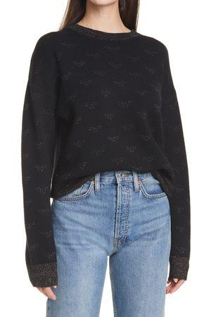 RE/DONE Women's 80'S Metallic Sweater