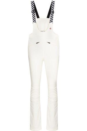 Perfect Moment Stripe detail ski overalls