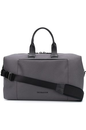 TROUBADOUR Fabric holdall - Grey