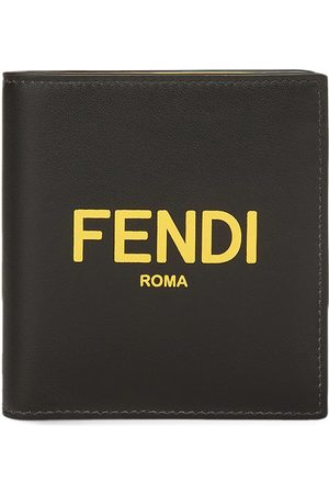 Fendi Men Wallets - Logo-print square wallet