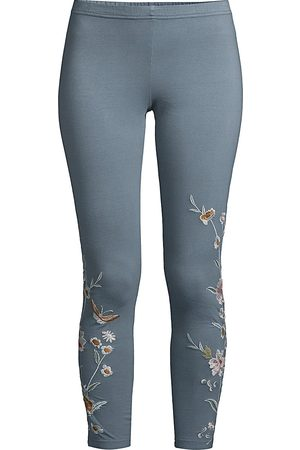 JOHNNY WAS Women's Serafina Embroidered Leggings - - Size XS