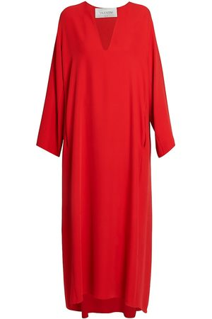 VALENTINO Women's Cady Silk Tunic Gown - - Size 48 (12)