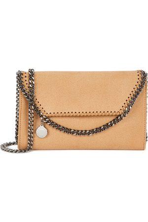 Stella McCartney Women Purses - Falabella mini sand cross-body bag