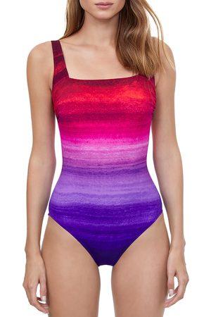 gottex Twilight Printed One Piece Swimsuit