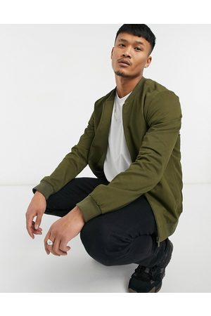 New Look Cotton Bomber in Khaki