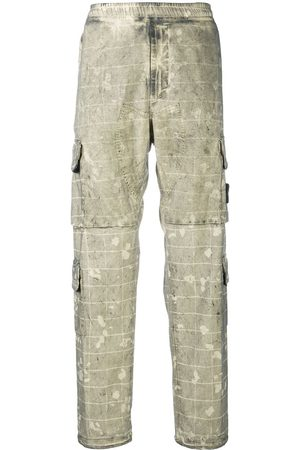 Stone Island Camouflage-print cargo trousers - Neutrals