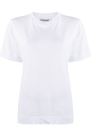 Ganni Crew-neck short-sleeve T-shirt
