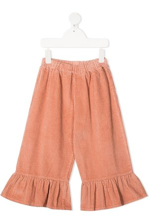 Emile et ida Girls Pants - Ruffled hem trousers