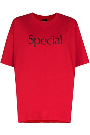 More Joy Logo print cotton T-shirt